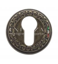 Накладки на цилиндр EXTREZA Classic YALE R06/F23 (античная бронза)