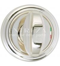 Фиксатор EXTREZA Classic WC R01/F24 (натуральное полированное серебро/чёрный)