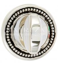 Фиксатор EXTREZA Classic WC R03/F24 (натуральное полированное серебро/чёрный)