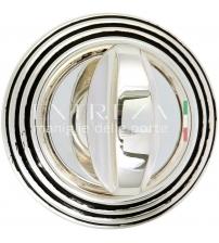 Фиксатор EXTREZA Classic WC R05/F24 (натуральное полированное серебро/чёрный)