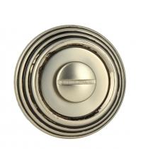 Фиксатор EXTREZA Classic WC R05/F64 (старинное серебро матовое/чёрный)