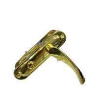 Ручки дверные на планке FERRE 62.323 WC G (золото)