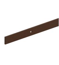 Направляющая для раздвижных дверей ROC DESIGN 1950 мм с 4 держателями (под ржавчину)