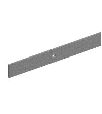 Направляющая для раздвижных дверей ROC DESIGN 1950 мм с 4 держателями (серая матовая)