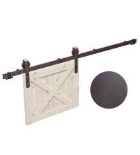 Комплект роликов для раздвижной двери ROC DESIGN THOR (под ржавчину, ролик с перфорацией)