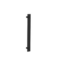 Ручка-скоба для деревянных и стеклянных дверей ROC DESIGN OS (356 мм х 32 мм х 50 мм, чёрная матовая, 1 штука)