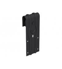 Комплект роликов для раздвижной двери ROC DESIGN YMIR (чёрный матовый, сплошной ролик)