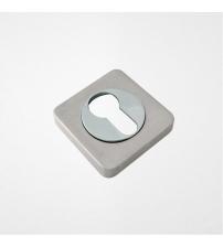 Накладки на цилиндр ROSSI ET-F21 SN/CP (матовый никель/полированный никель)