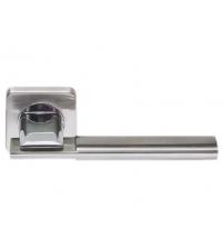 """Ручки дверные ROSSI LD-176-F21 """"TESA"""" SN/CP (матовый никель/полированный никель)"""