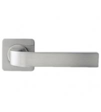 """Ручки дверные ROSSI LD-200-F21 """"ZANTE"""" SN/CP (матовый никель/полированный никель)"""