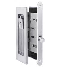 Ручки с защёлкой для раздвижных дверей ARMADILLO SH011 URB CP-8 (хром)
