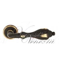 """Дверная ручка Venezia """"ANAFESTO"""" D1 (тёмная бронза)"""