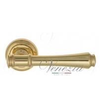 """Дверная ручка Venezia """"CALLISTO"""" D1 (полированная латунь)"""