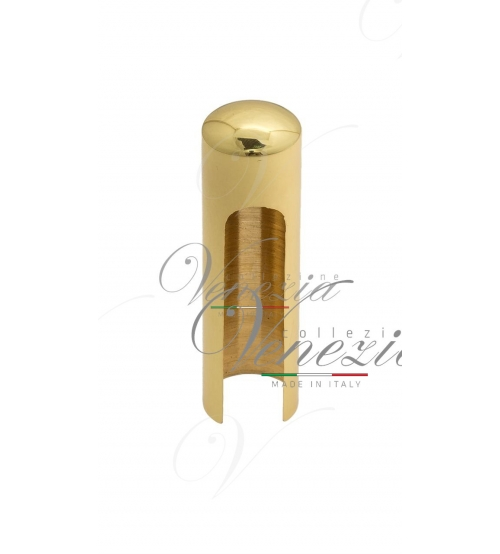 Колпачок для ввертных петель Venezia CP14 U D14 мм (полированная латунь)
