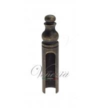 Колпачок для ввертных петель Venezia CP14 D14 мм с пешкой (античная бронза)