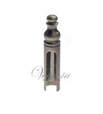 Колпачок для ввертных петель Venezia CP14 D14 мм с пешкой (античное серебро)