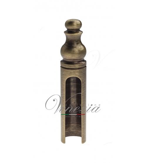 Колпачок для ввертных петель Venezia CP14 D14 мм с пешкой (бронза)