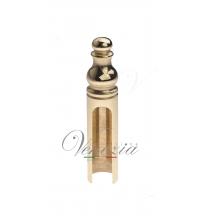 Колпачок для ввертных петель Venezia CP14 D14 мм с пешкой (полированная латунь)