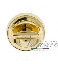 Фиксатор поворотный Venezia WC-2 D1 (полированная латунь)