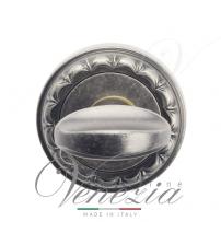 Фиксатор поворотный Venezia WC-2 D2 (античное серебро)