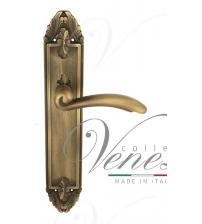 """Дверная ручка на планке Venezia """"VERSALE"""" PASS PL90 (матовая бронза, проходная)"""