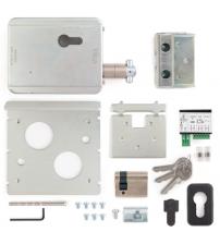 Замок накладной электромеханический VIRO-V09 7905 24V (для раздвижных ворот, 3 ключа)