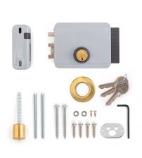 Замок накладной электромеханический VIRO8967.712.1 Block Out 12V (внутреннего открывания, 3 ключа, правый)