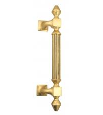 """Ручка-скоба парадная Venezia """"IMPERIONE"""" (французское золото/коричневый, 365 мм/235 мм)"""