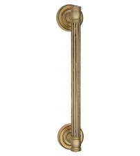 """Ручка-скоба парадная Venezia """"IMPERO"""" (французское золото/коричневый, 320 мм/260 мм)"""