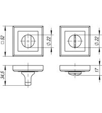Фиксатор PUNTO BK6 QL ABG-6 (бронза)