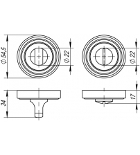 Фиксатор PUNTO BK6 ML ABG-6 (бронза)