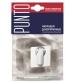 Накладка на цилиндр PUNTO ЕТ QR SN/CP-3 (матовый никель/хром)