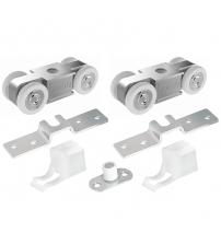 Комплект роликов для раздвижных дверей PUNTO Soft Line 55/4 (до 55 кг.)