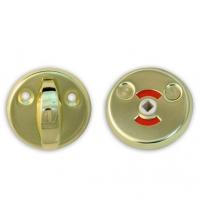 Фиксатор Apecs WC-0608-G (золото, для финских дверей)