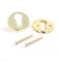 Накладка цилиндровая Apecs DP-C-06-G (золото, для финских дверей)