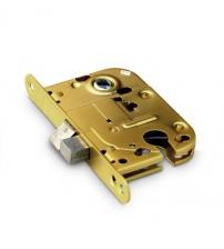 Замок межкомнатный Apecs 6000-G (золото, для финских дверей)