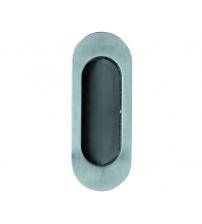 Ручка для раздвижных дверей и шкафов-купе ARCHIE A-K02-V0Н (белый никель)