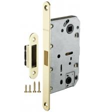 Защёлка врезная FUARO MAGNET M-96 WC-50 GP (золото)