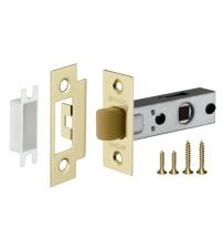 Защёлка врезная FUARO PLASTIC P12-45-25 SG (матовое золото)