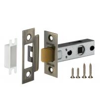 Защёлка врезная FUARO PLASTIC P12-45-25 AB (бронза)