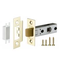 Защёлка врезная FUARO PLASTIC P12-45-25 GP (золото)