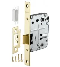 Защёлка врезная FUARO PLASTIC P72-50 GP (золото)