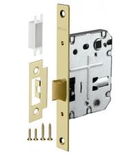 Защёлка врезная FUARO PLASTIC P72-50 SG (матовое золото)
