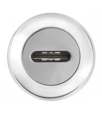 Накладка под  сувальдный ключ FUARO SC RM CP-8 (хром, 1 шт.)