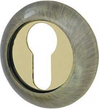 Накладка на цилиндр ARMADILLO ET-1AB/GP-7 (бронза/золото)