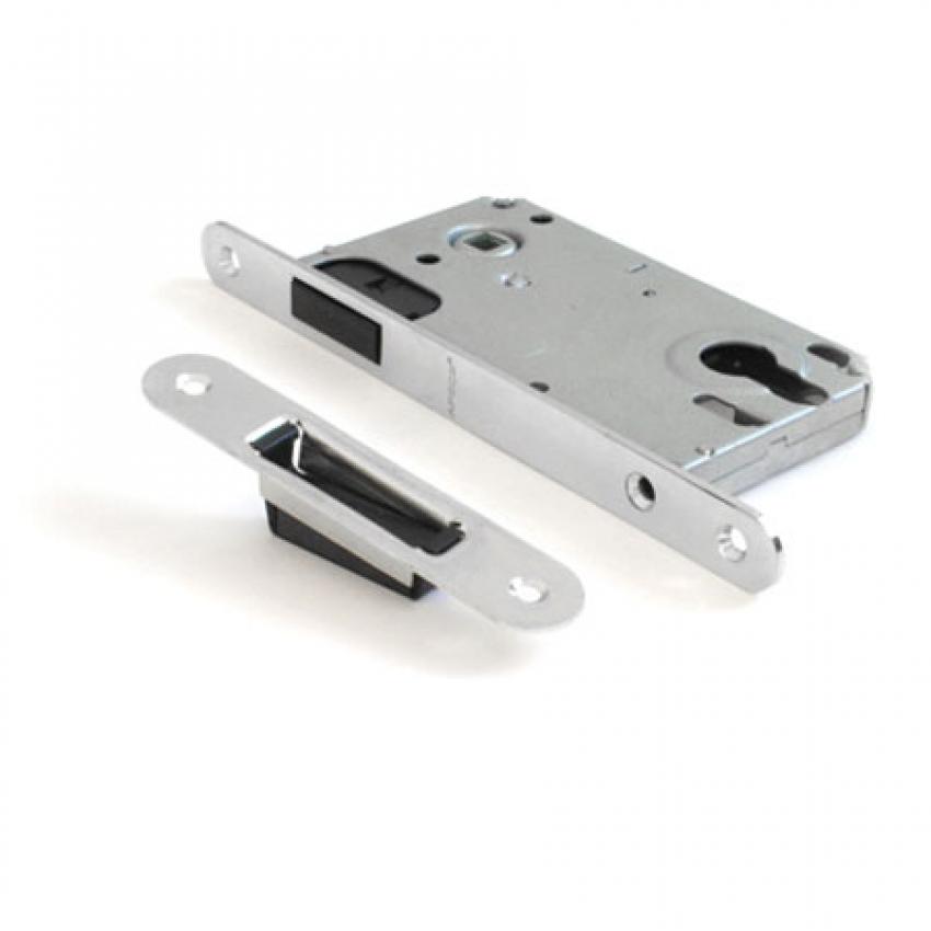 Защёлка магнитная под цилиндр PALLINI РМ-8550 СР (хром)