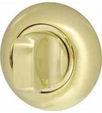 Ручка поворотная ARMADILLO WC-BOLT BK6-1SG/GP-4 (матовое золото/золото)