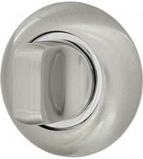 Ручка поворотная ARMADILLO WC-BOLT BK6-1SN/CP-3 (матовый никель/хром)