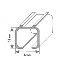 Верхняя направляющая для раздвижных дверей RENZ (2 метра)