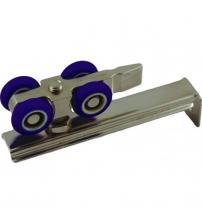 Комплект роликов для раздвижных дверей RENZ DR04 (до 80 кг.,усиленная площадка крепления)